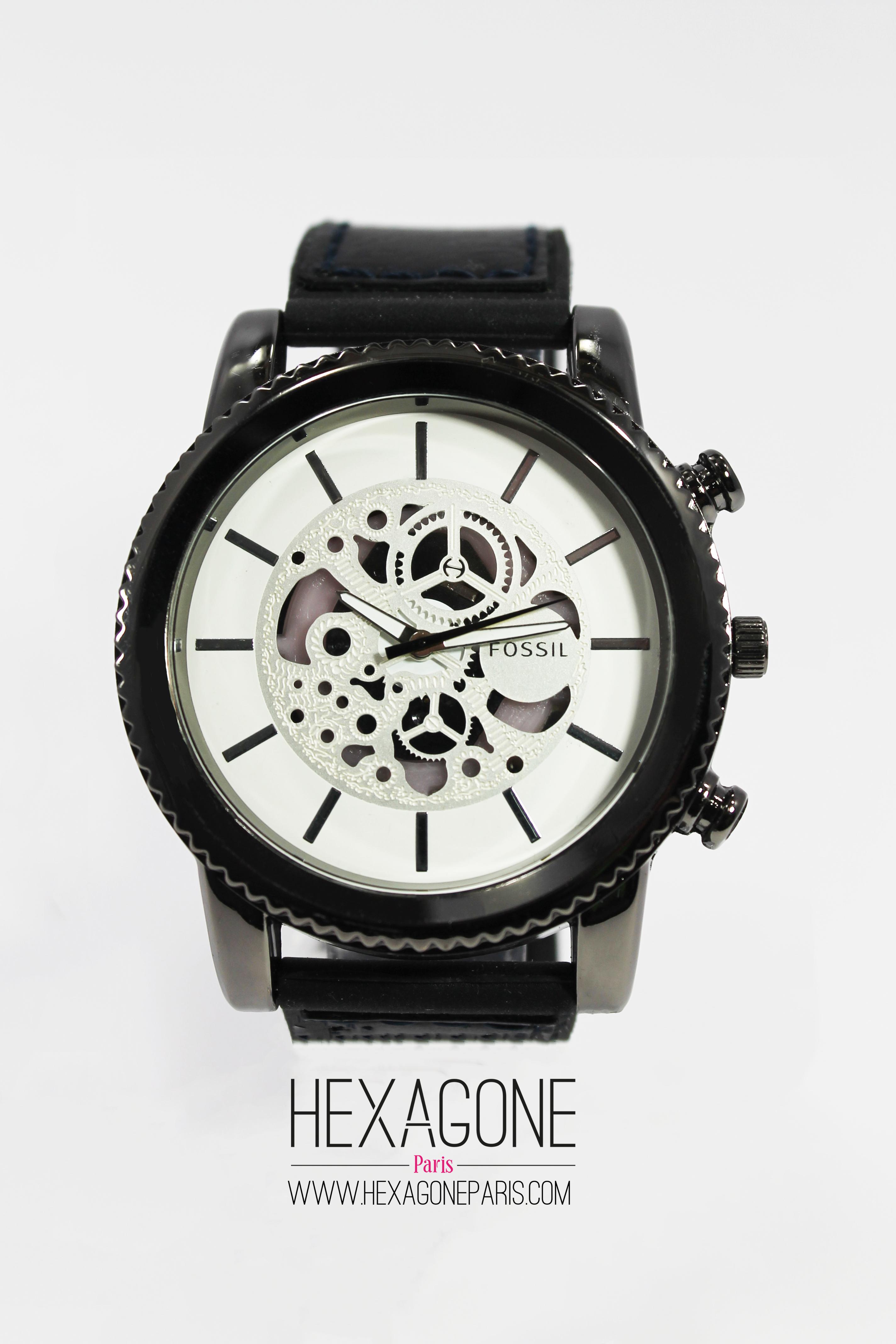 6918deb90fec Joyería Colombia - Reloj para Hombres 45mm en Acero Color Plateado